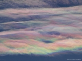 """Iridescent Altocumulus Lenticularis Clouds in Strasbourg"""